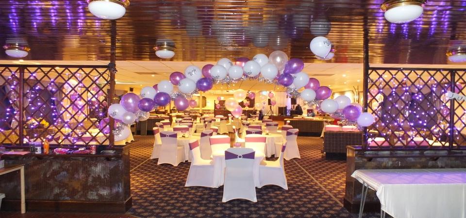 Wedding Setup at Mayfield Club